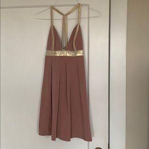 Jay Godfrey light pink dress